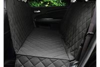 Back Seat Car Covers Amazon Amazon Honest Luxury Quilted Dog Car Seat Cover with Side Flap